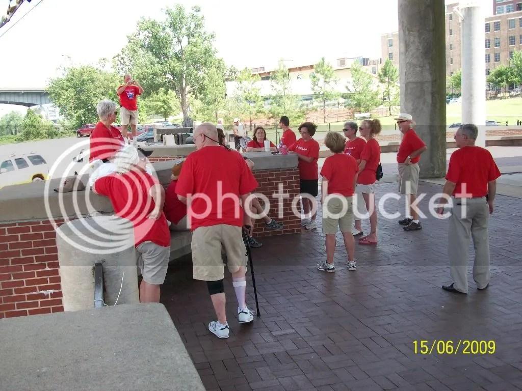 Volunteers receiving duty assignments