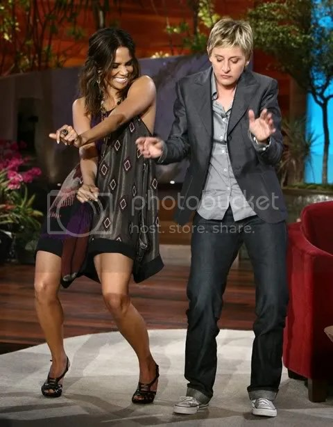 "Halle Berry On Ellen:Halle Berry Dancing Hurricane Chris ""She's Fine"""