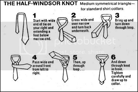 how to tie a tie or pie a pie