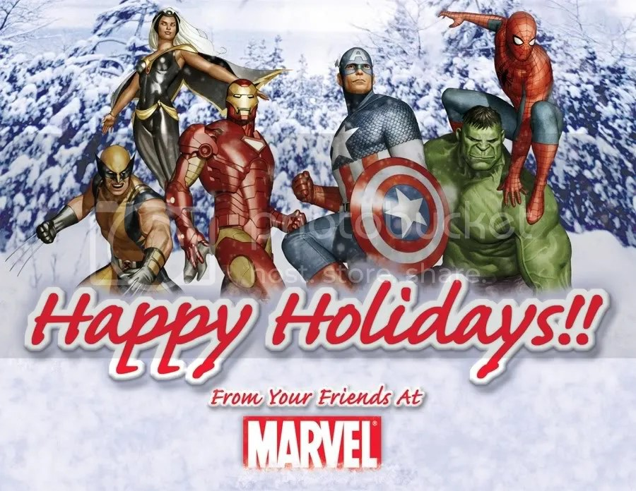 Seasons Greetings A Collection Of Awesome Marvel