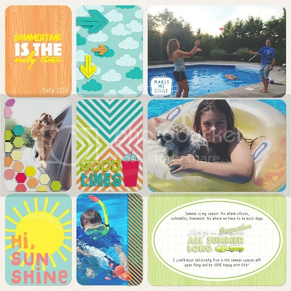 Becky Higgins Digital Project Life Hi, Sunshine Value Kit by Jenn McCabe