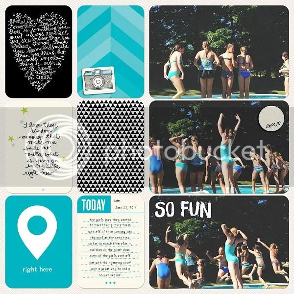 Becky Higgins Digital Project Life Kiwi Value Pack by Jenn McCabe