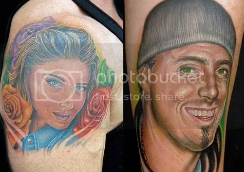 It's bad enough when someone gets a celebrity tattoo, but it's even worse
