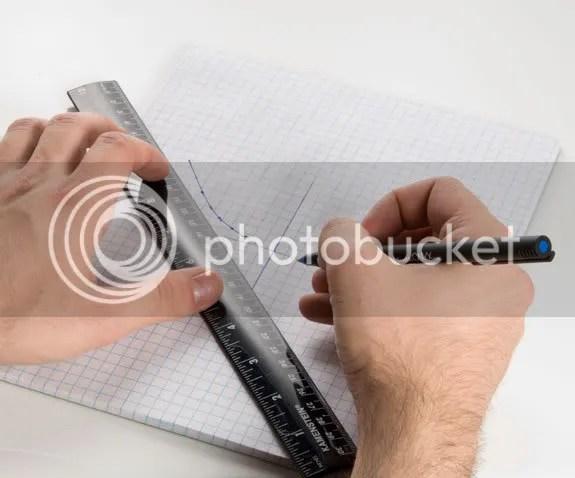 Vẽ parabol lên giấy