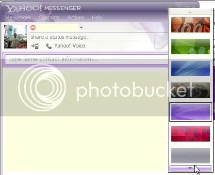 Yahoo 9.0 cải tiến phần themes