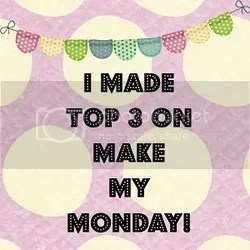 handmade cards, handmade cards singapore, make my monday winner, make my monday challenge