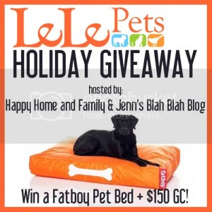 Lelepets Holiday Giveaway