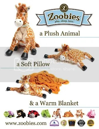 Zoobies Blanket
