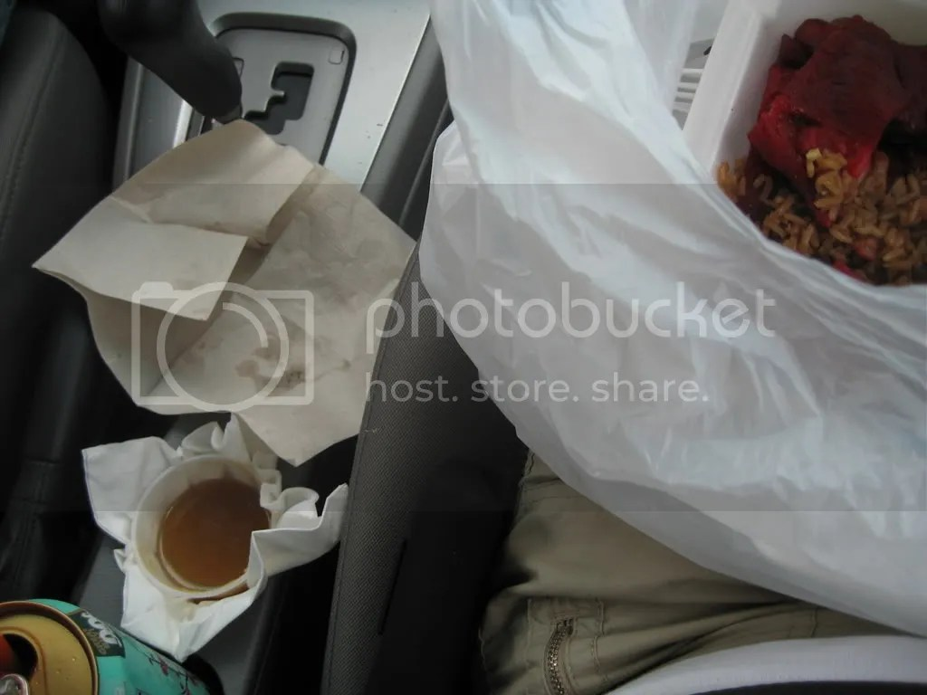 our drive thru chinese dinner