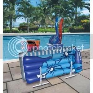 pool float organizer