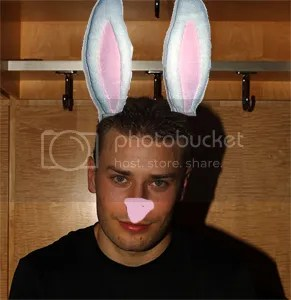 Fabian Brunnstrom will be a bunny, thanks to the people at SHR