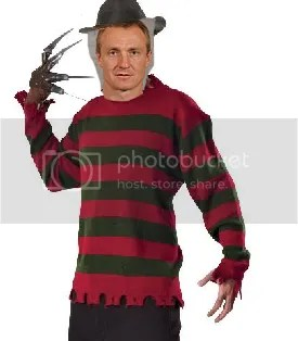 Jere Lehtinen will be scaring kids all over town as Freddy Kruger, because Freddy is awesome.  Seriously.