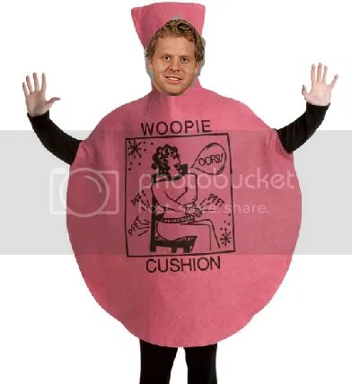 Steve Ott will be a jokester as a giant whoopie cushion