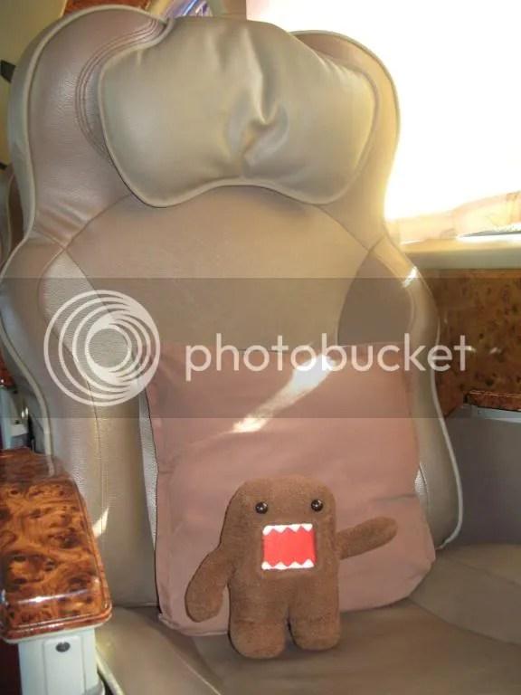 OK, you take THAT seat. Are you comfy enough?