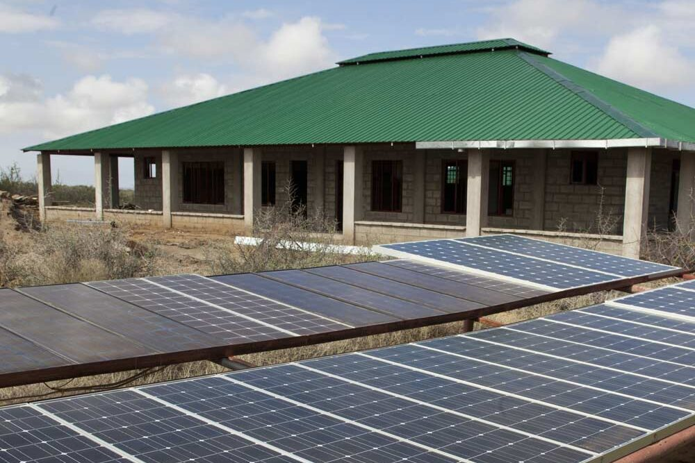 Solar panels on the Grounds of TBI Turkwel
