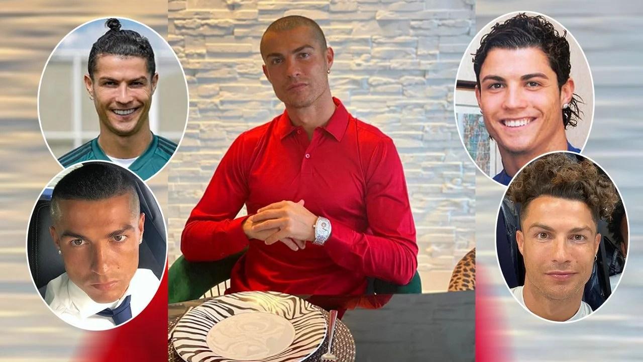 Ronaldo Früher . Jetzt Mit Glatze Die Frisuren Von Cristiano Ronaldo