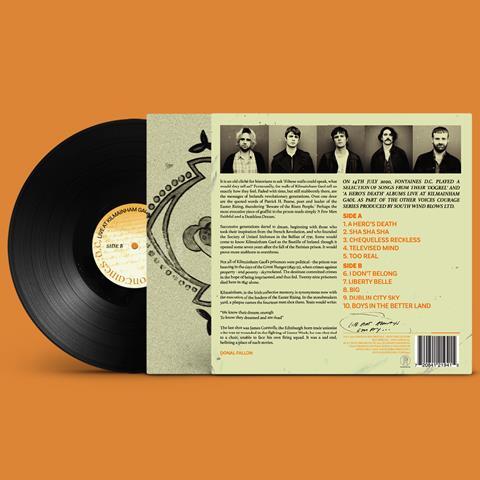 Live at Kilmainham Gaol Vinyl image