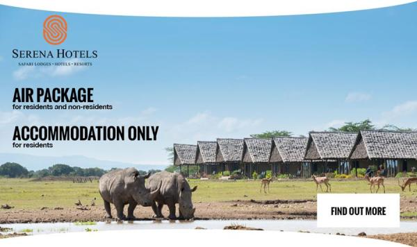 Ol Pejeta House and Sweetwaters Serena Camp