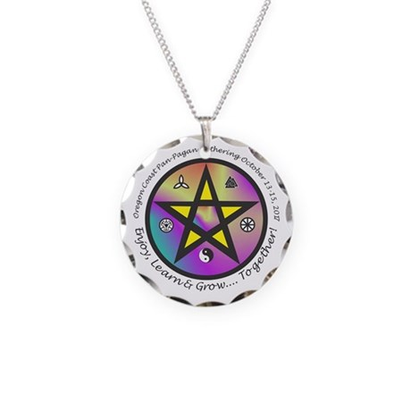 Ocppg 2017 Necklace Circle Charm