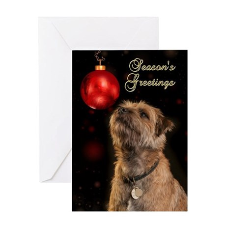 Border Terriers Christmas Greeting Cards Card Ideas