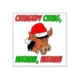 dominick the italian christmas donkey stickers cafepress - Dominick The Italian Christmas Donkey Song