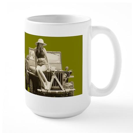 WW2 Army Jill Large Mug