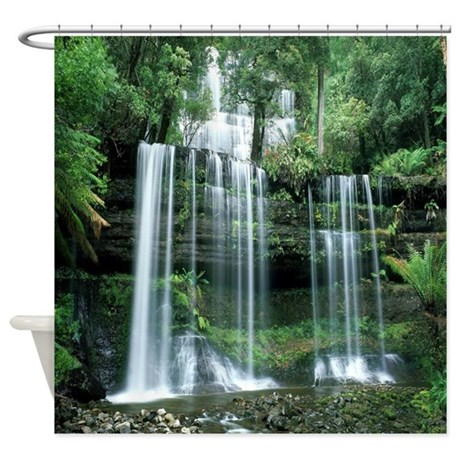 Waterfall Shower Curtain By 904shirts