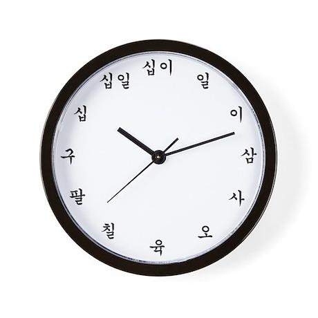 Image result for korean clock gif