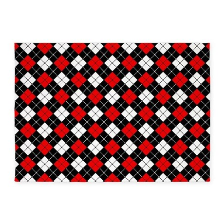 Red And Black Checkered Curtains