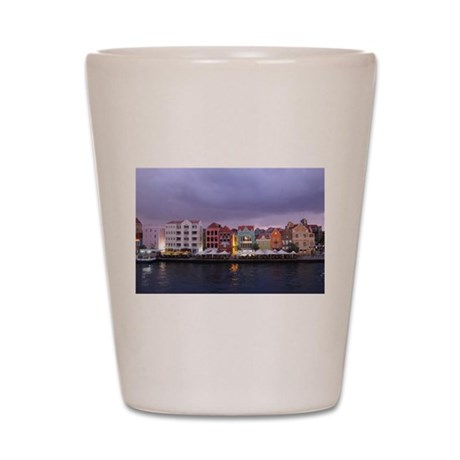 Curacao Dusk Shot Glass
