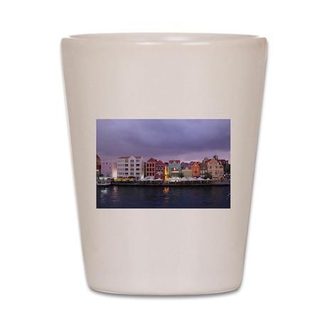 Curacao Dusk Shot Glass