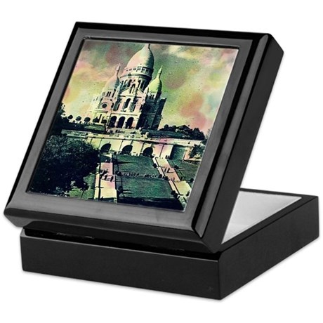 Sacré Coeur Funky Dots Keepsake Box