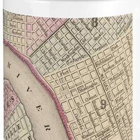 HD Decor Images » New Orleans Drinkware   CafePress Vintage Map of New Orleans  1880  Mugs