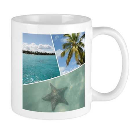 Caribbean Collage Mugs