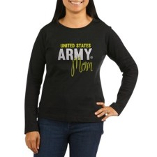 US Army Mom long sleeve shirt