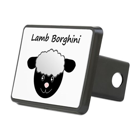 Lamb Borghini Hitch Cover