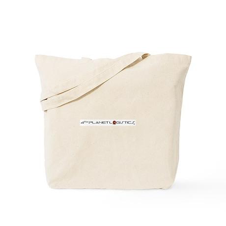 4th Planet Logistics Logo Shirt (white) Tote Bag