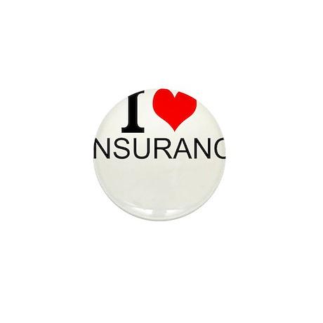 I Love Insurance Button Progressive