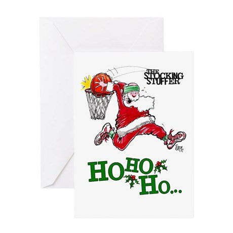 Basketball Christmas Greeting Cards Card Ideas Sayings
