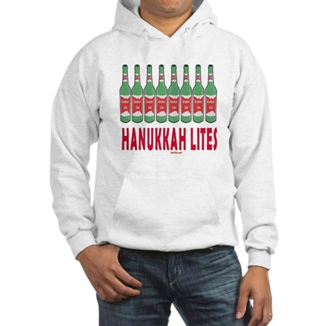 Hanukkah Lights Hooded Sweatshirt