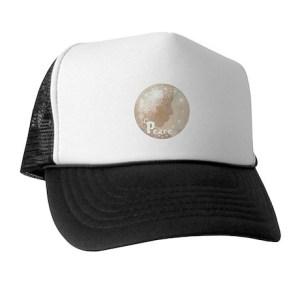 Peace Snow Angel Trucker Hat