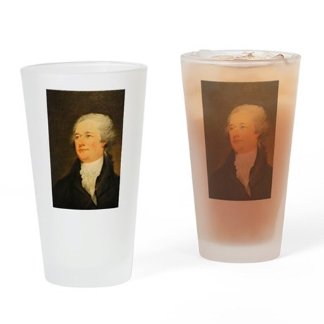 Founding Fathers: Alexander Hamilton Drinking Glas