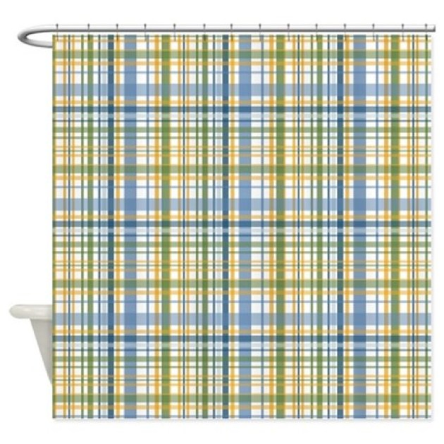 Image Result For Yellow Plaid Kitchen Curtains