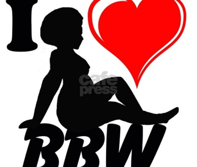 I Love Bbw Wall Decal Favorite