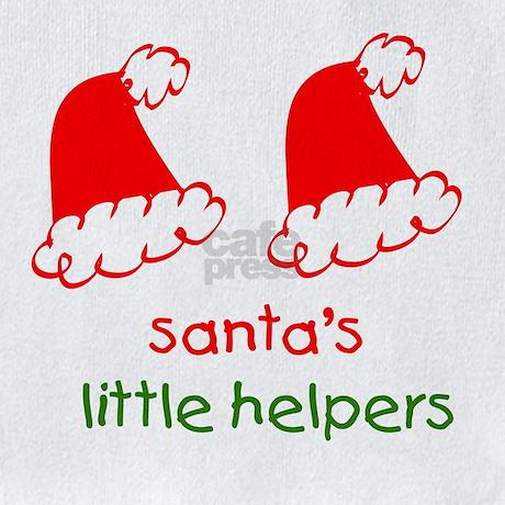 Santas Little Helpers Bib By Ivfbaby