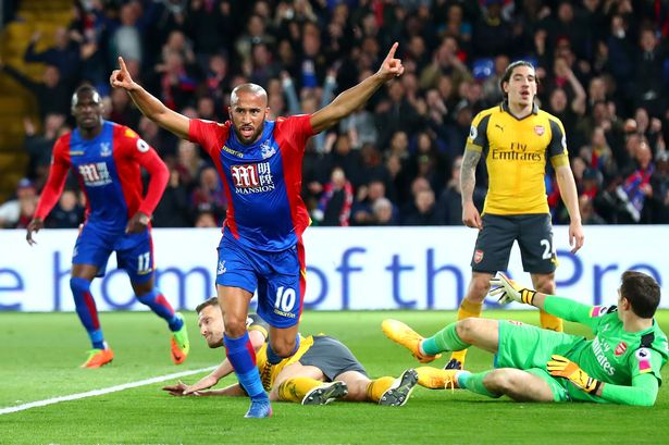 Image result for crystal palace vs arsenal