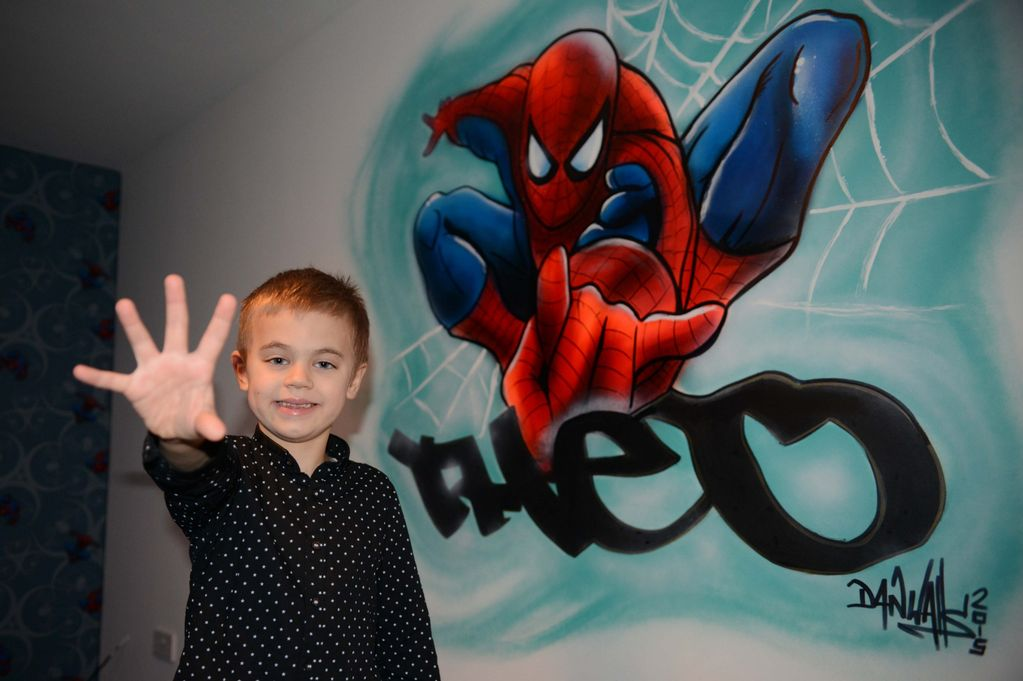 Theo Hallam from Saltburn in his new bedroom