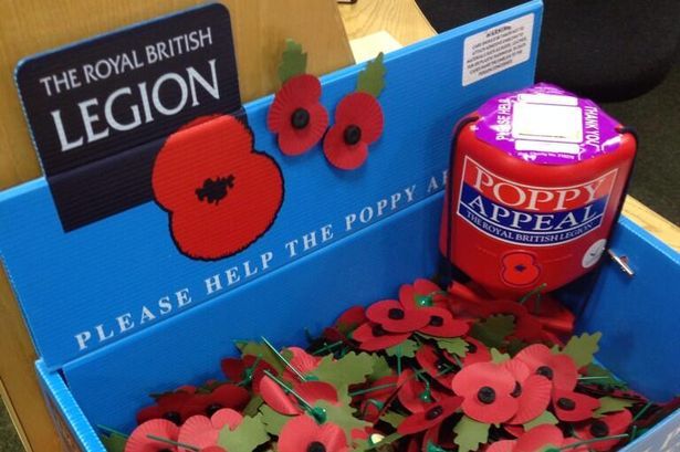 Image result for poppies in a box