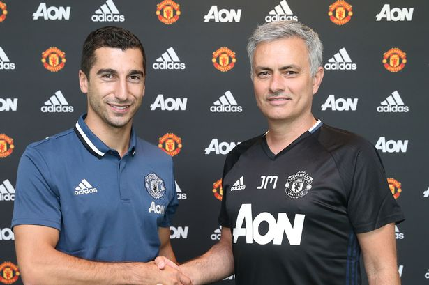 Image result for Mourinho: Mkhitaryan is not injured but needs time to adjust