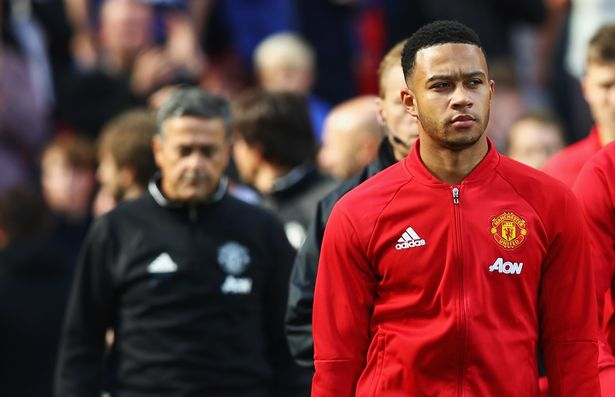 Memphis Depay has had very few opportunities this season.